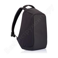 """Рюкзак для ноутбука до 15"""" xd design bobby черный с темно-синей подкладкой p705.545"""