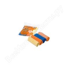 Набор салфеток из микрофибры (рулончики, 4 шт, 30х30 см) airline ab-v-03