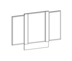 Зеркало SV-мебель