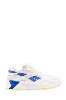 Сине-белые кроссовки Aztrek Reebok
