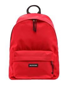 Красный рюкзак Explorer Balenciaga Man