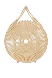 Круглая бамбуковая сумка Zaha Cult Gaia