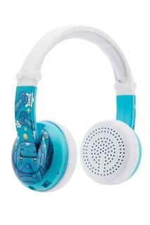 Синие наушники Wave Robot Buddyphones