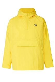 Желтая куртка-анорак Adidas