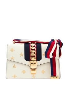 Компактная сумка Sylvie Bee Star Gucci