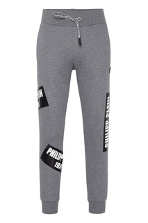 Серые спортивные брюки Philipp Plein