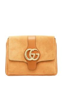 Бежевая сумка на плечо Arli Gucci