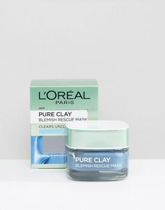 Глиняная маска для борьбы с несовершенствами кожи LOreal Paris - Бесцветный LOreal