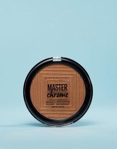 Металлизированный хайлайтер Maybelline Master Chrome - Золотой