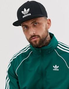 Бесплатная доставка … Черная кепка adidas Originals - Черный 4258ead6e4cfd