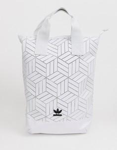 Рюкзак с геометрическим 3D-рисунком adidas Originals - Черный