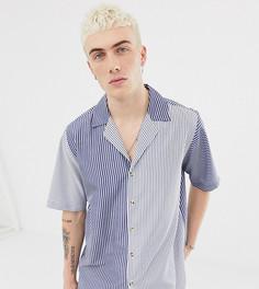 Рубашка в полоску Reclaimed Vintage inspired - Черный