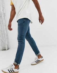 Выбеленные узкие джинсы Celio - Синий