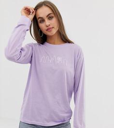 Лонгслив с вышивкой Daisy Street - Фиолетовый