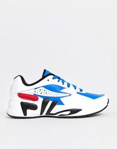 Белые кроссовки Fila Mindblower - Белый