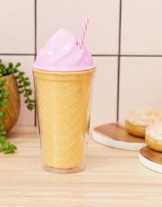 Розовый стакан в виде мороженого Sunnylife - Розовый