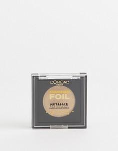 Тени для век LOréal Paris Crushed Foils Gold 21 - Золотой LOreal