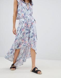 Комбинируемая пляжная юбка с тропическим принтом Rip Curl - Мульти