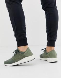 Кроссовки цвета хаки New Balance running Cruz - Зеленый