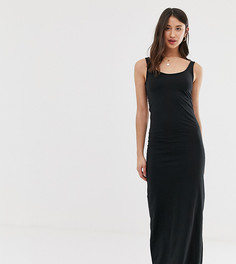 Трикотажное платье макси Vero Moda Tall - Черный