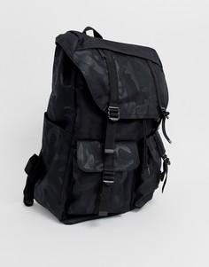 Черный рюкзак с камуфляжным принтом вместимостью 33 л Herschel Supply Co Buckingham - Черный
