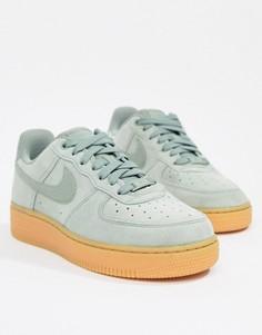 Кроссовки на каучуковой подошве Nike Air Force 1 - Зеленый