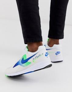 Кроссовки с синими вставками Nike Air Skylon II - Синий