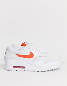 Белые кроссовки Nike Air Max 1 CD1530-100 - Белый