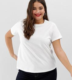 Белая футболка с круглым вырезом ASOS DESIGN Curve Ultimate - Белый