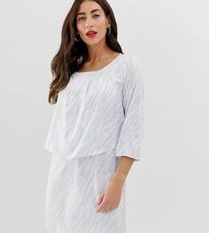 Платье с накладкой для кормления грудью Mamalicious - Белый Mama.Licious