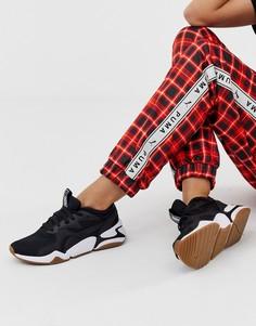 Черные кроссовки в стиле 90-х Puma Nova - Черный