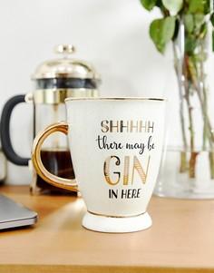 Кружка Sass & Belle shhhh gin - Мульти