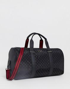 Черная сумка с монограммой River Island - Черный