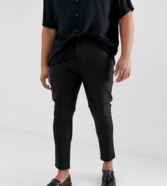 800a33e0d26e Джинсы скинни из искусственной кожи ASOS DESIGN Plus - Черный кожаные