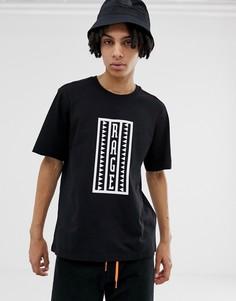 Черная футболка с надписью Rage в стиле ретро The North Face 92 - Черный