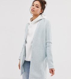 Пальто с разрезами на воротнике Vero Moda Tall - Синий