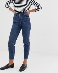 Джинсы в винтажном стиле Selected Femme - Темно-синий