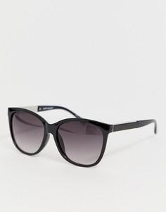 Большие солнцезащитные очки Vero Moda - Черный