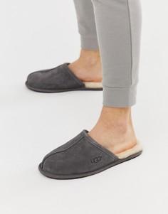 Темно-серые слиперы Ugg Australia - Серый