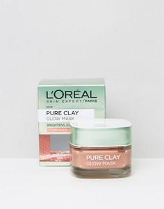 Очищающая маска для придания сияния LOreal Paris - Бесцветный LOreal