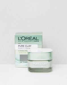 Очищающая маска для лица LOreal Paris Pure Clay - Бесцветный LOreal