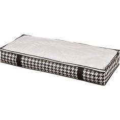 Кофр Handy Home для хранения Пепита, Д1070 Ш460 В150, черно-белый
