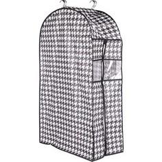 Кофр Handy Home подвесной для одежды Пепита, Д1000 Ш600 В300, черно-белый