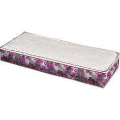 Кофр Handy Home для хранения Роза, Д1070 Ш460 В150, розово-серый