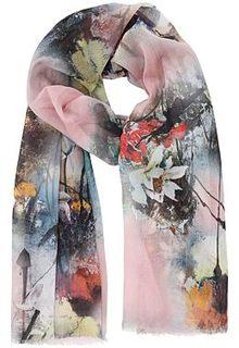 Палантин с цветочным рисунком Sophie Ramage