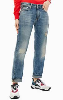 Рваные джинсы со стандартной посадкой CKJ 061 Calvin Klein