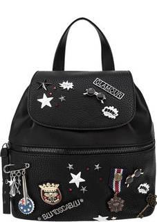 Городской рюкзак с металлическим декором Tosca Blu