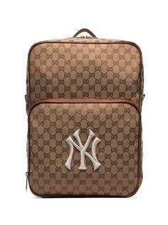 Gucci парусиновый рюкзак с нашивкой NY Yankees