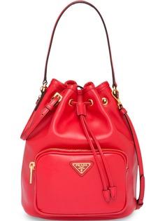 Prada сумка-ведро с логотипом