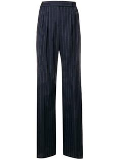Max Mara прямые брюки в полоску